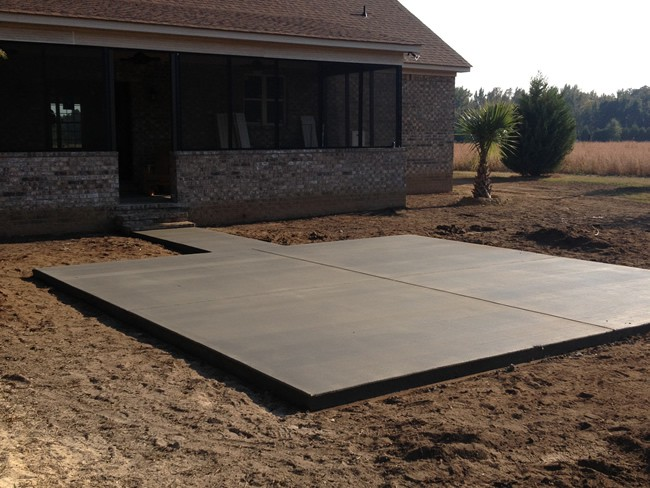 Concrete Patios 001. 1 ...